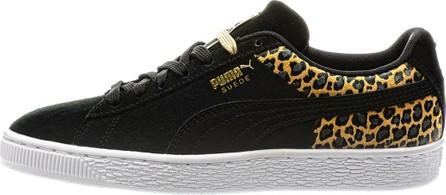 PUMA Wild Leopard Suede Sneakers