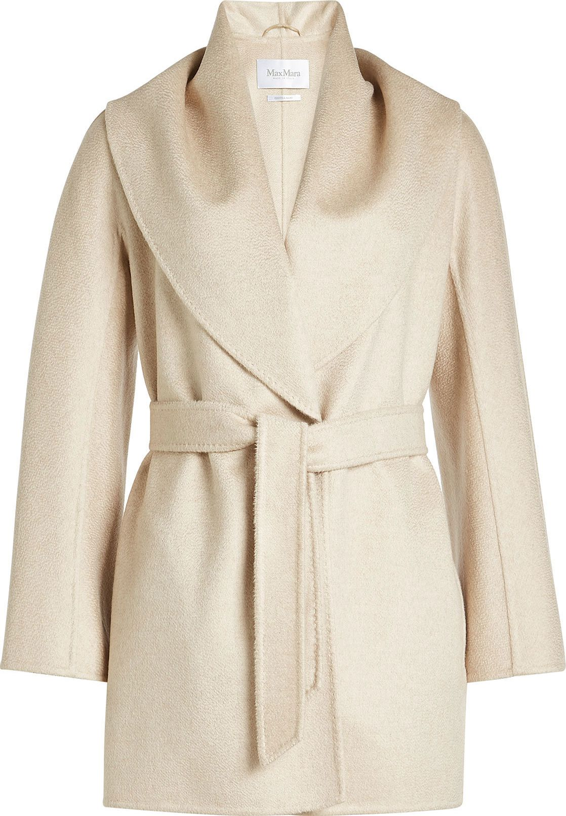 Max Mara - Belted Wool Jacket