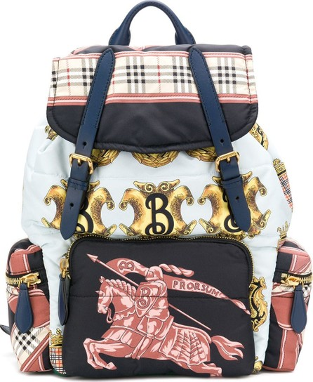 Burberry London England Large Rucksack in Archive Scarf Print