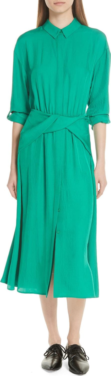 GREY Jason Wu Twist Waist Twill Dress
