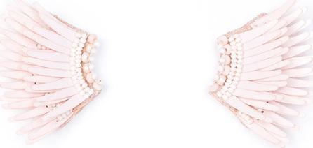 Mignonne Gavigan New York Madeline Mini Matte Earrings, Pink