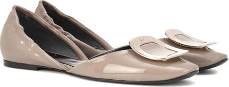 Roger Vivier Chips patent leather ballerinas