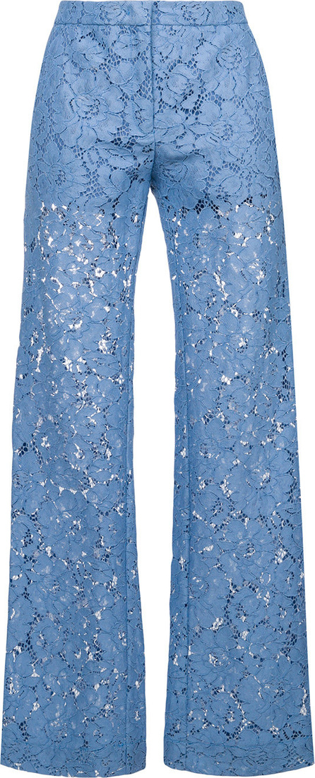 Pinko Lace embroidered slim-fit rousers