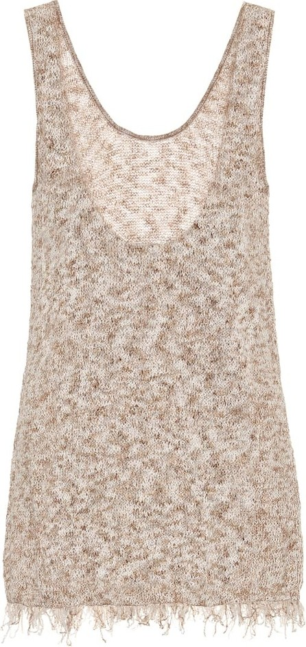 Alanui Exclusive to Mytheresa – Cotton-blend knit tank top