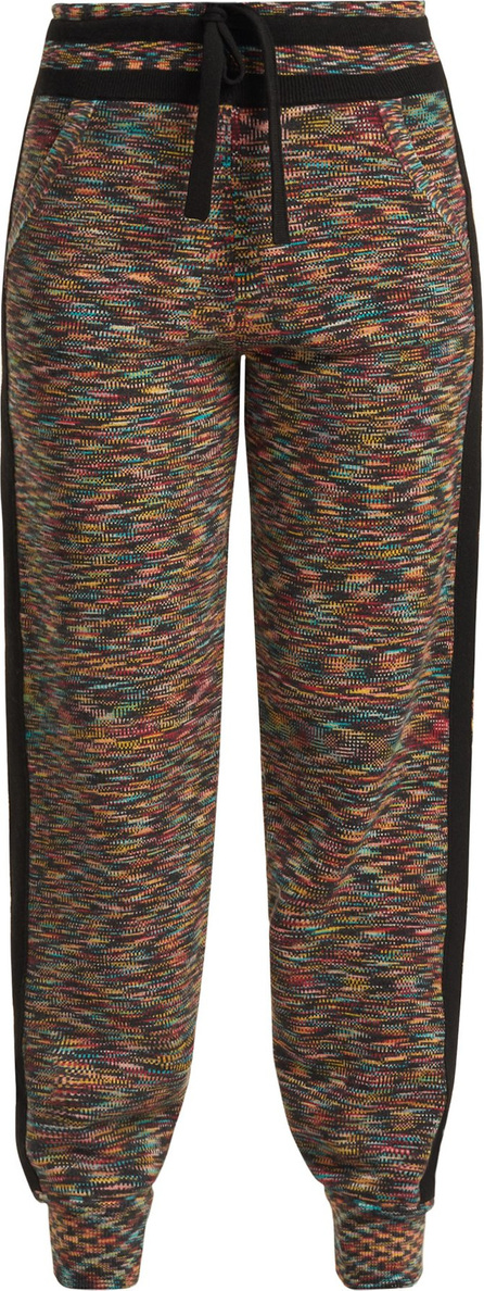 Missoni Side-stripe cashmere track pants