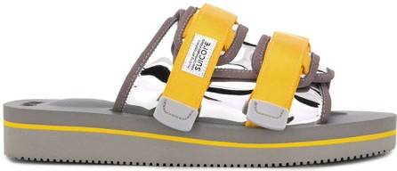 Suicoke Colour-block logo slides