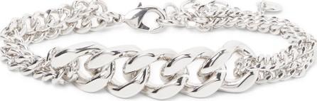 A.P.C. Sky Logo-Engraved Silver-Tone Chain Bracelet