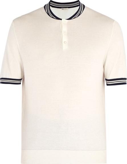 Connolly Cotton-knit racing polo shirt