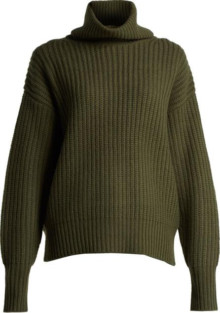 Joseph Pearl ribbed-knit wool sweater