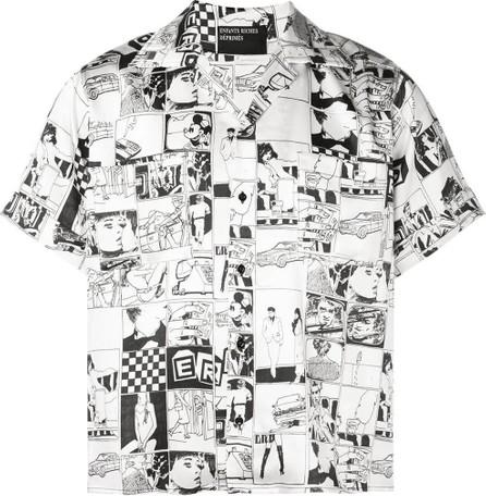 Enfants Riches Deprimes Comic Print shirt