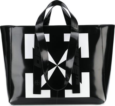 Off White Arrow print tote bag