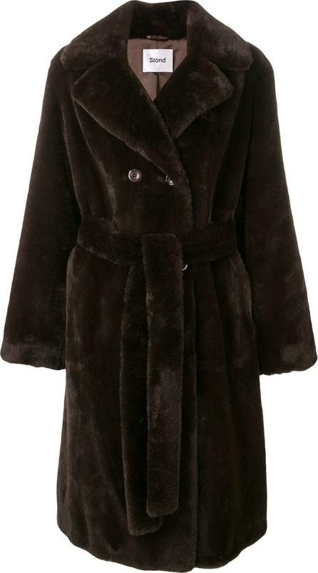 Stand Faustine fur coat
