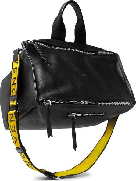 Givenchy Pandora Webbing-Trimmed Leather Tote Bag