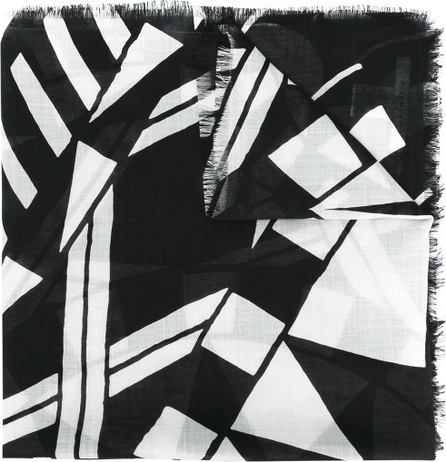 Givenchy geometric pattern scarf