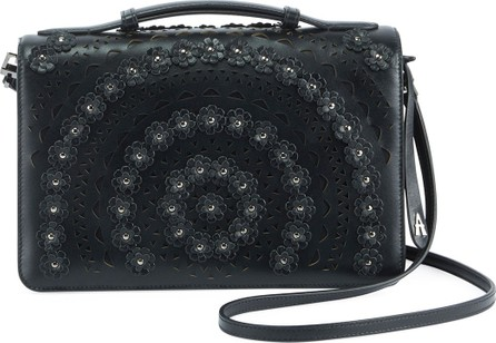 Alaïa Franca Medium Vienne Fleur Crossbody Bag