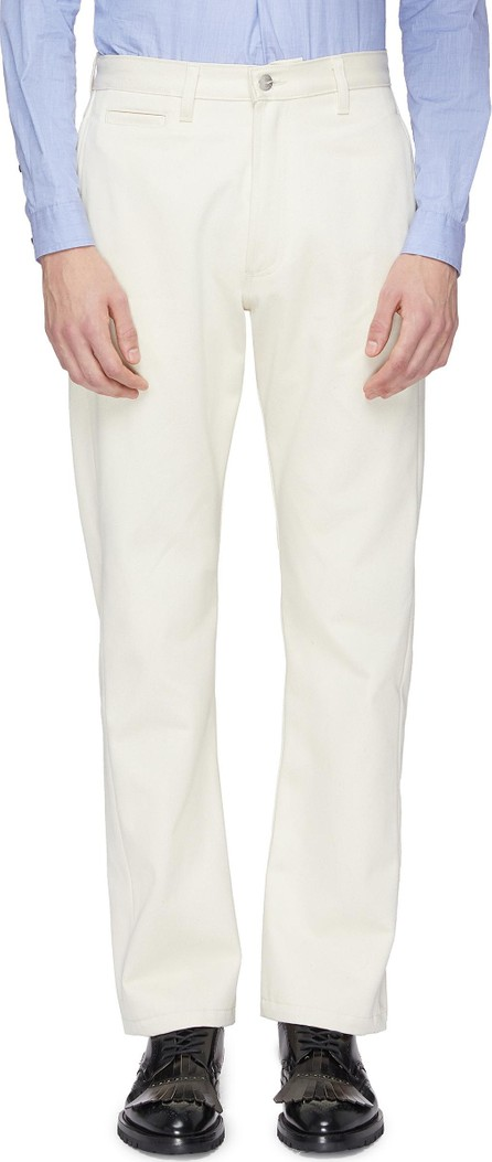 E. Tautz Straight leg twill pants