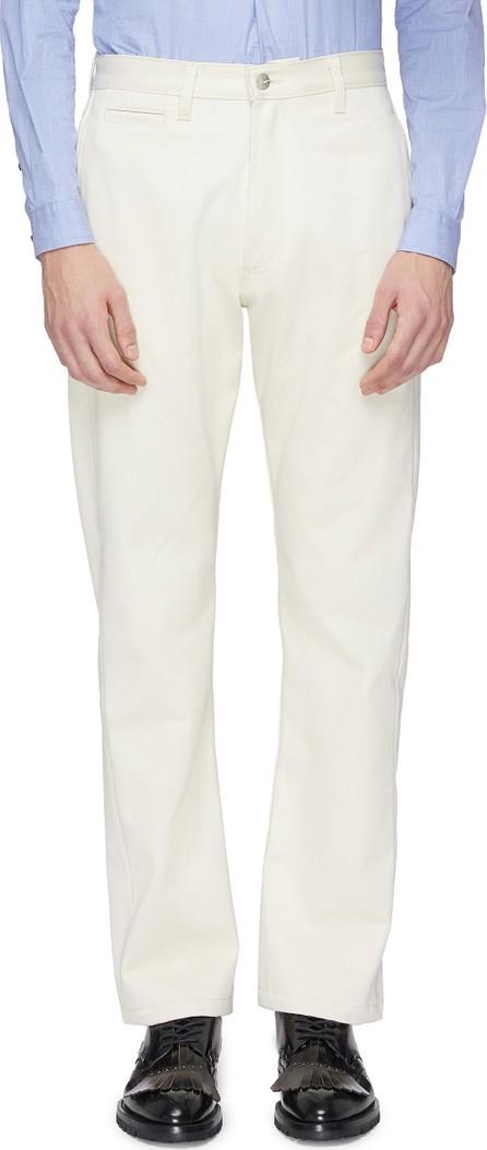 E. Tautz Straight leg twill pants