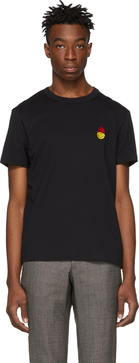AMI Black Smiley Edition Patch T-Shirt