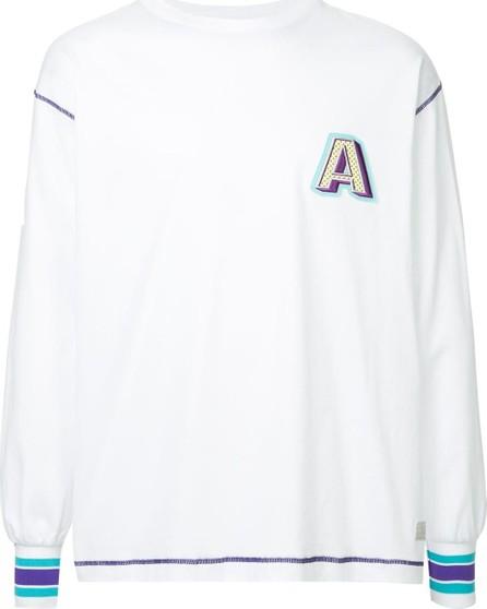 A(Lefrude)E Logo embroidered sweatshirt