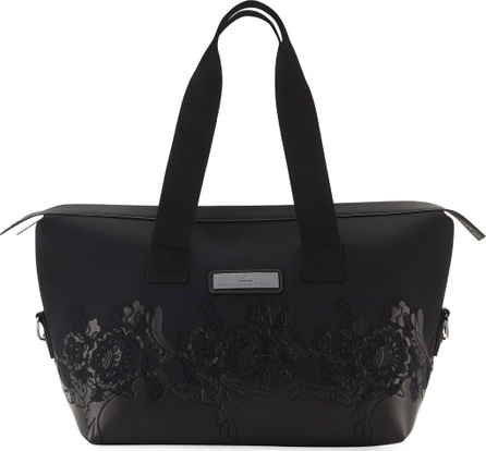Adidas By Stella McCartney Floral Zip-Top Nylon Gym Bag
