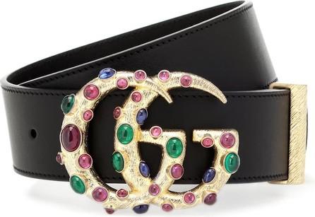 Gucci GG embellished leather belt