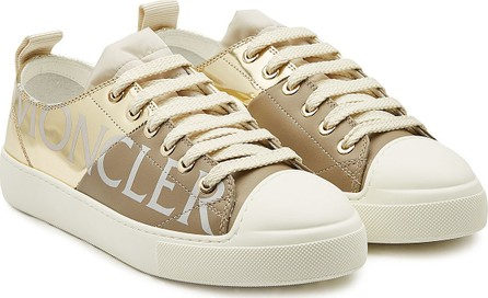 Moncler Linda Patent Leather Sneakers