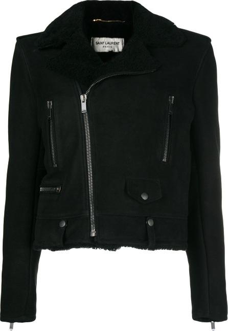 Saint Laurent Shearling biker jacket