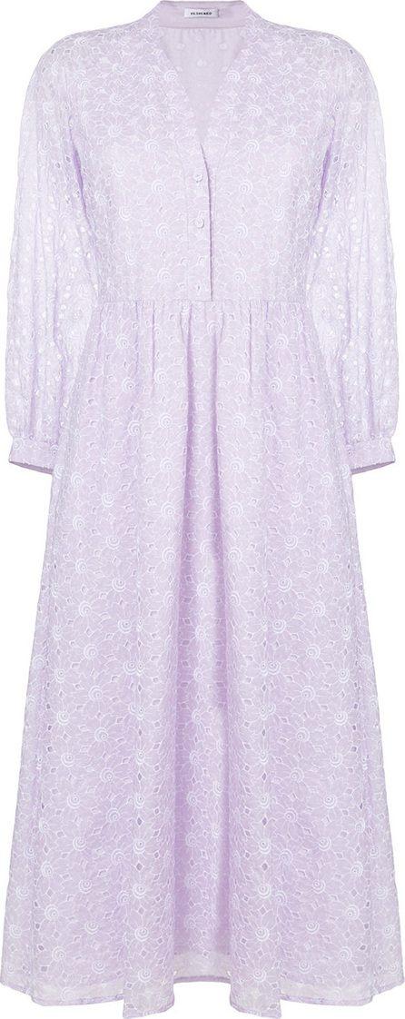 Vilshenko Broderie anglaise shirt dress