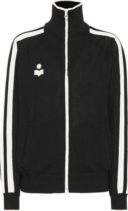 Isabel Marant Etoile Striped zip-front jacket