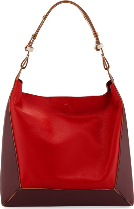 Marni Colorblock Square Shoulder Bag