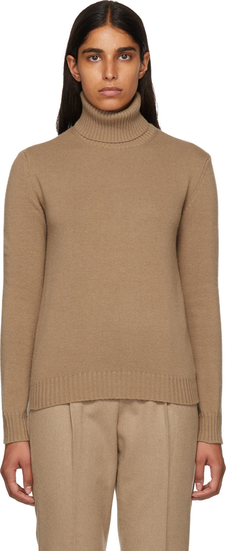 Max Mara Brown Elisse Turtleneck