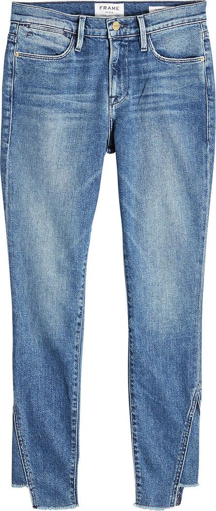 FRAME DENIM Le High Skinny Gusse Jeans