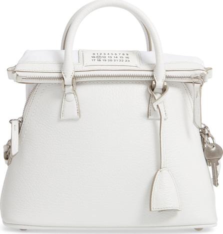 Maison Margiela Small 5AC Calfskin Leather Handbag