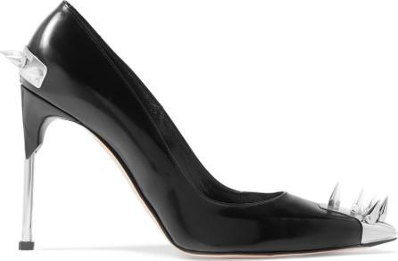 Alexander McQueen Spiked leather pumps
