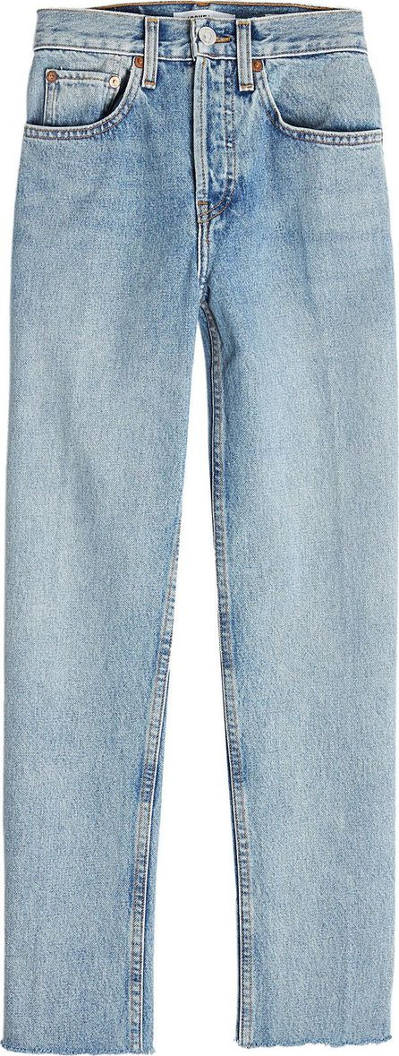 RE/DONE Stovepipe 27 High-Waisted Jeans