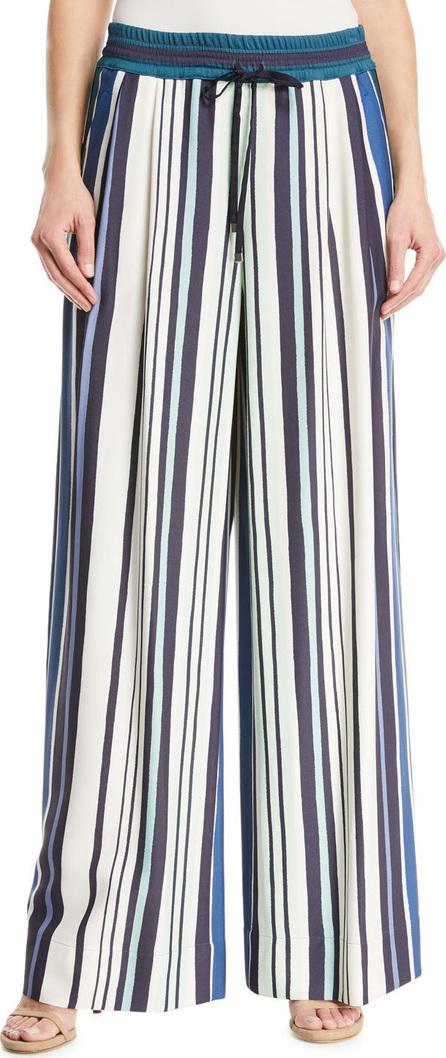 Lafayette 148 New York Reade Mesa Striped Pants