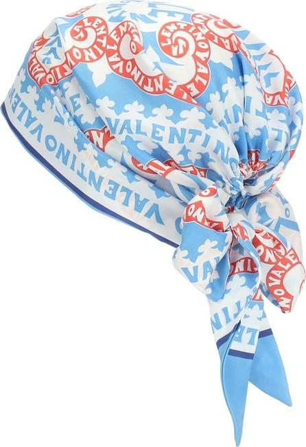Valentino Exclusive to Mytheresa – Printed silk-twill headscarf