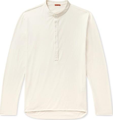 Barena Cotton-Jersey Henley T-Shirt