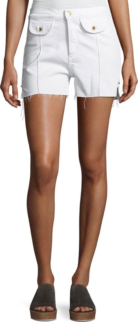 Acynetic Carrie High-Rise Denim Shorts