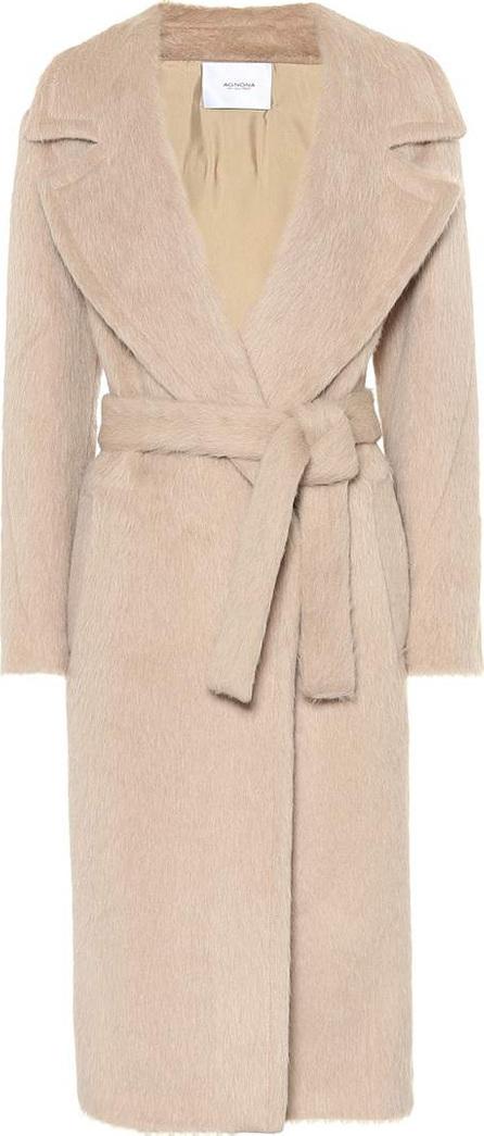 Agnona Alpaca and wool coat