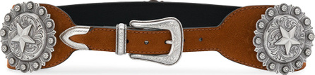 Kate Cate Star plaque Western belt