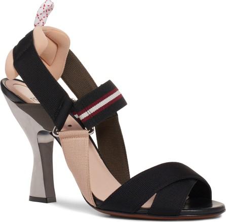 Fendi Colibri Slingback Sandal