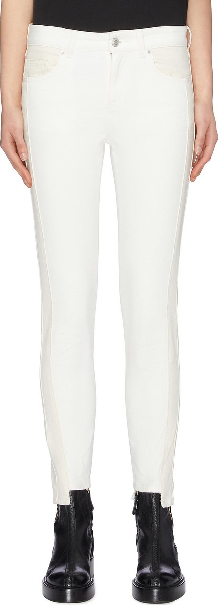 Alexander McQueen Staggered cuff skinny jeans