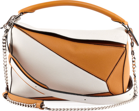 LOEWE Puzzle Colorblock Leather Bag