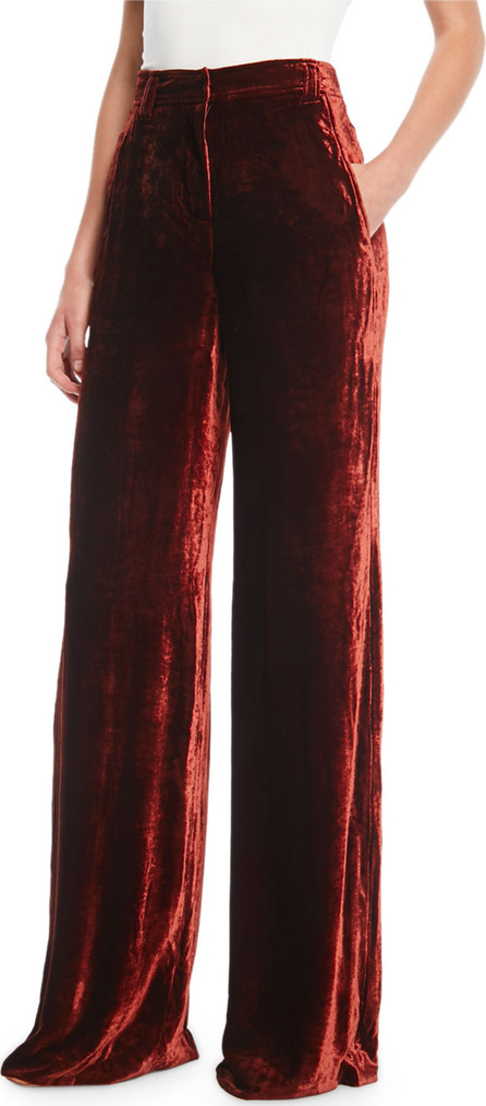 A.L.C. Ashbury Wide-Leg Velvet Pants