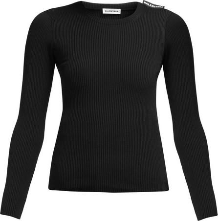 Balenciaga Ribbed-knit sweater
