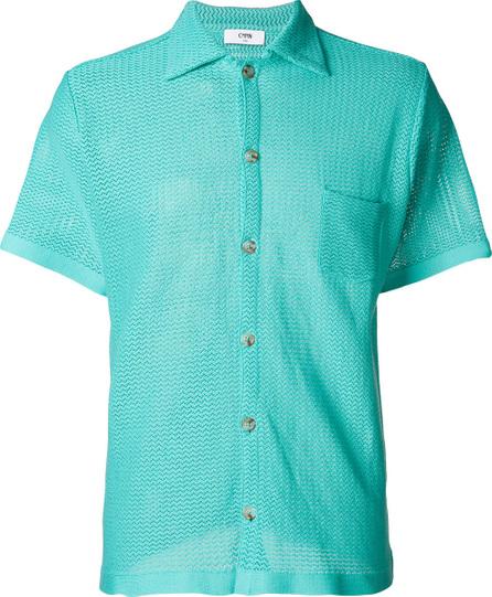 Cmmn Swdn Textured short sleeve shirt