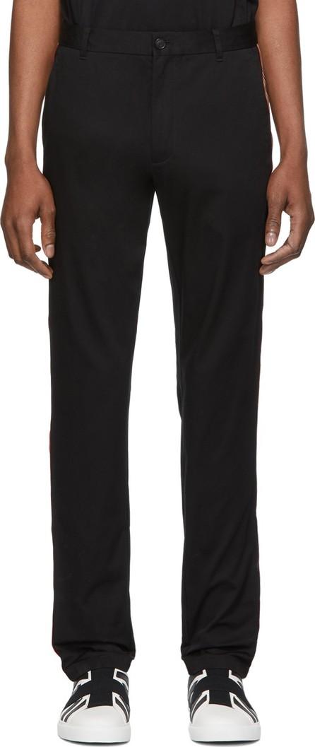 Burberry London England Black Shibden Chino Trousers