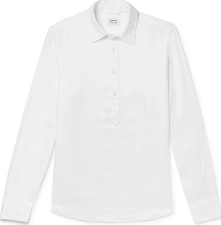 Aspesi Linen Half-Placket Shirt