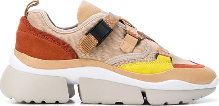 Chloe Platform strap sneakers